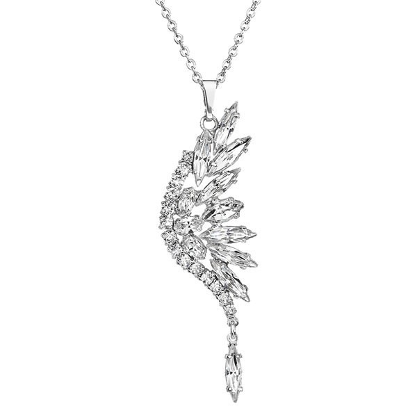 Collier aile papillon Fabos crystals from Swarovski,Colliers Swarovski